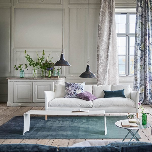Capisoli Teal Rug by Designers Guild