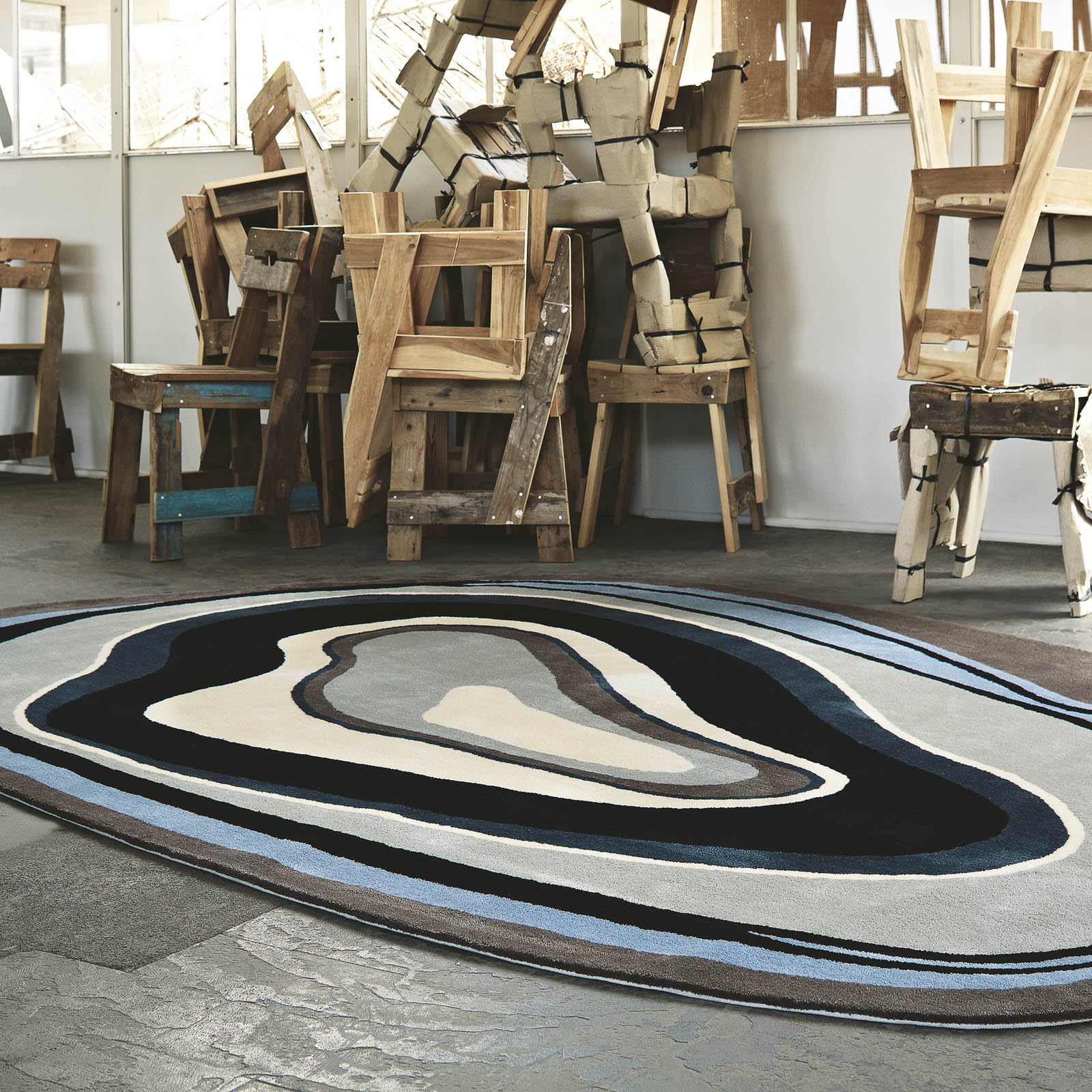 Unusual Business Rugs