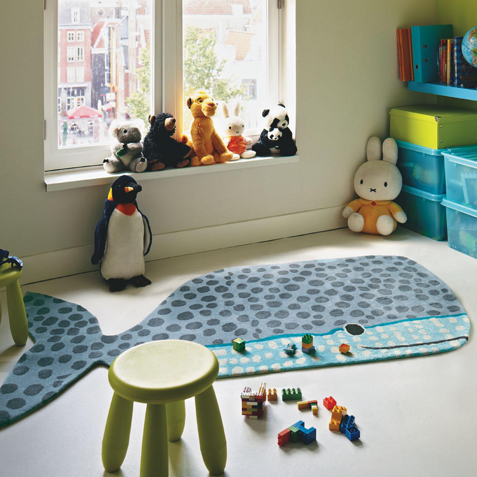 Xian Kids Buddy 41504 Whale Rug
