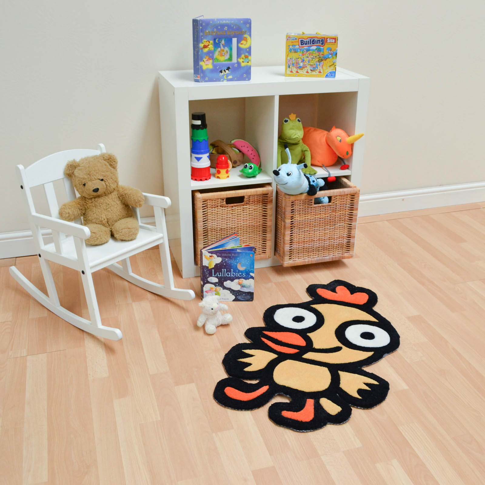 Kiddy Duck Rugs in Yellow