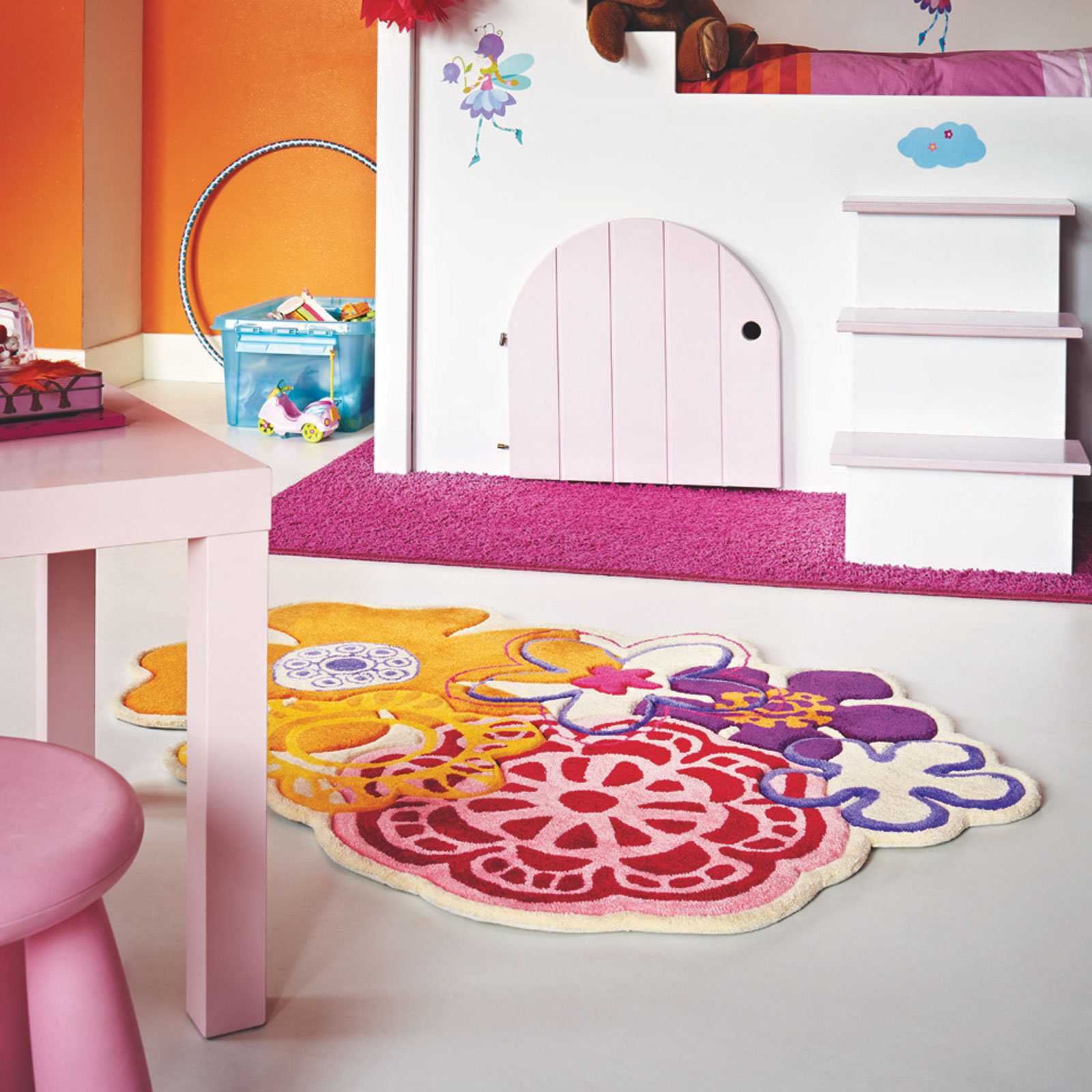 Xian Fleur 41203 Kids Rugs by Brink and Campman