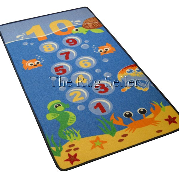 hopscotch children's rugs