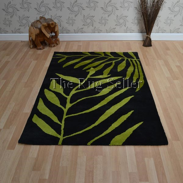 woven leaves rugs