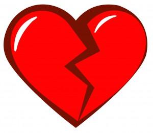 Broken Heart Graphic