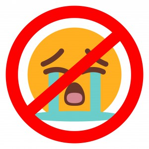 Don't Cry Emoticon