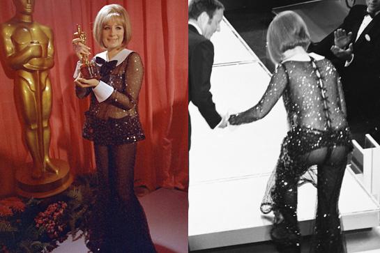Barbra Streisand at the 1969 Oscars