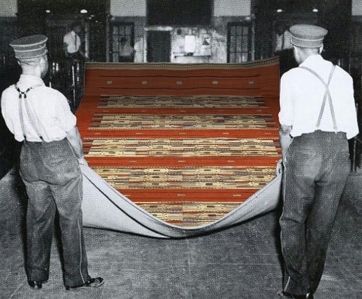 the red carpet used for president james monroe