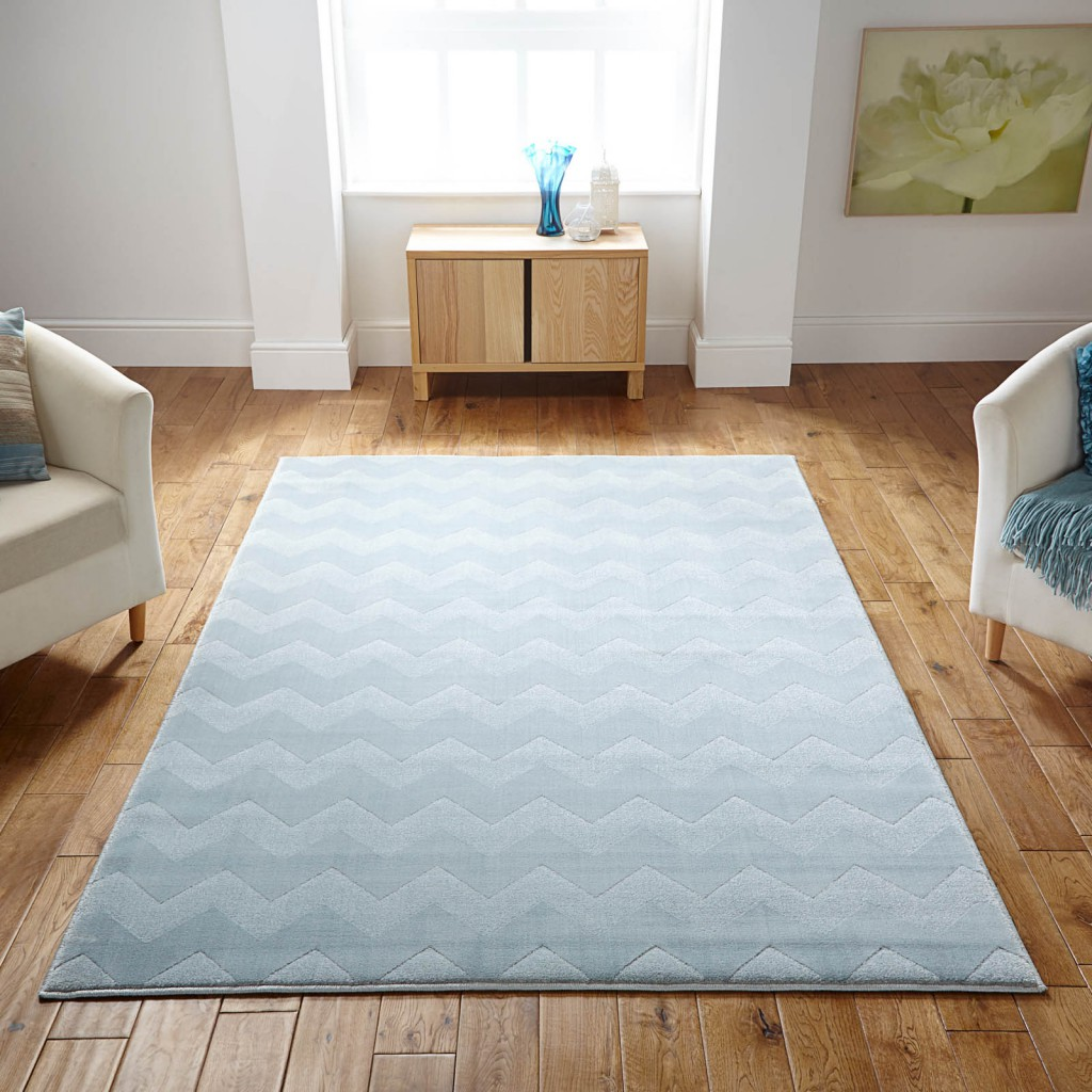 Louvre rug in light blue spring colours 2016