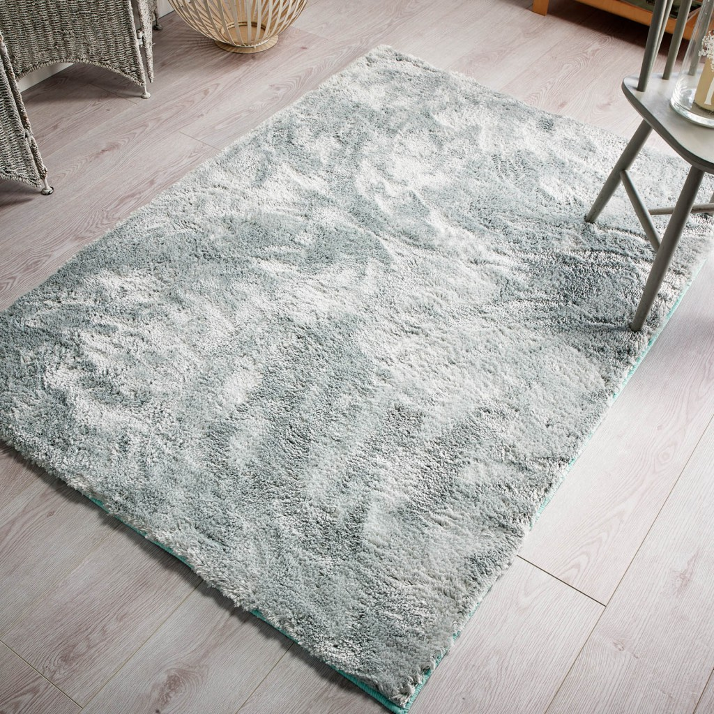 Wisp rug in Duck Egg spring colours 2016