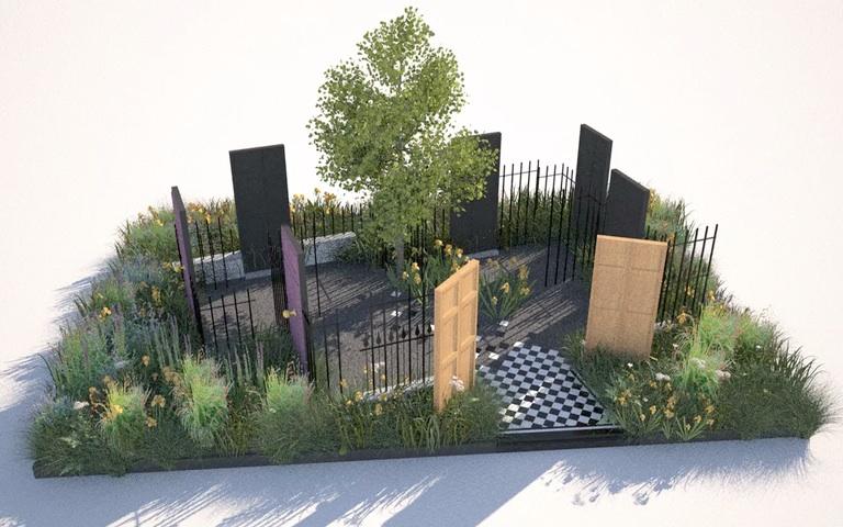 JULIET SARGENT chelsea flower show 2016 garden design