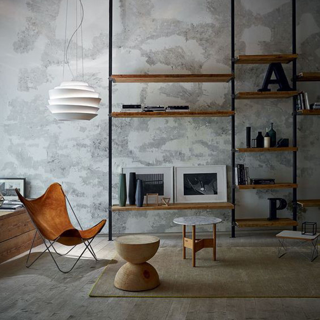 concrete interior | how to work the trend - the rug seller blog