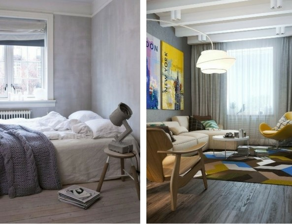 concrete furniture a concrete inspired bedroom and a concrete wall modern living room