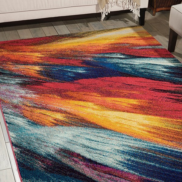 concrete furniture a celestial rug from the rug seller with a cosmic design