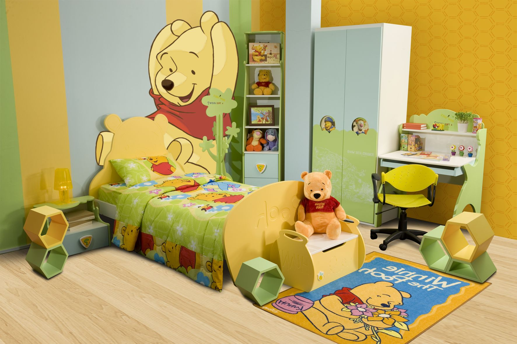 Creative Kids Bedrooms Winnie The Pooh And Friends Inspired Bedroom Decor