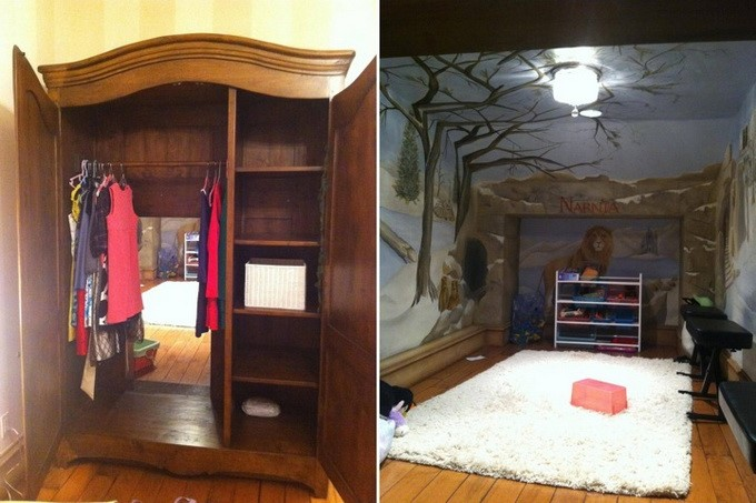 Creative Kids Bedrooms A Passage Way To Narnia Childrens Room