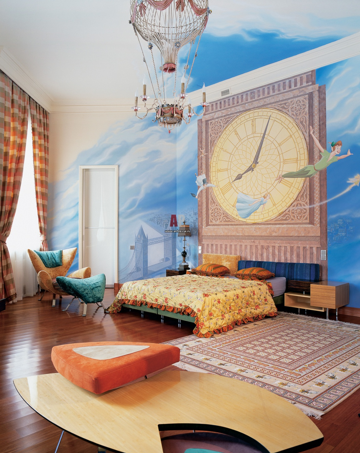 Creative Kids Bedroom Peter Pan Themed Large Bedroom