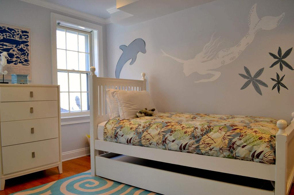 Creative Kids Bedrooms Mermaids Inspired Room