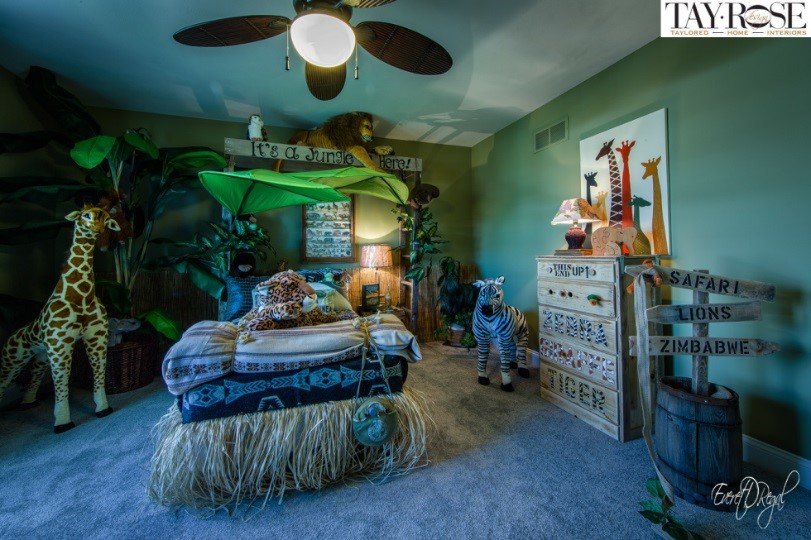 Creative Kids Bedrooms Jungle Inspired Room