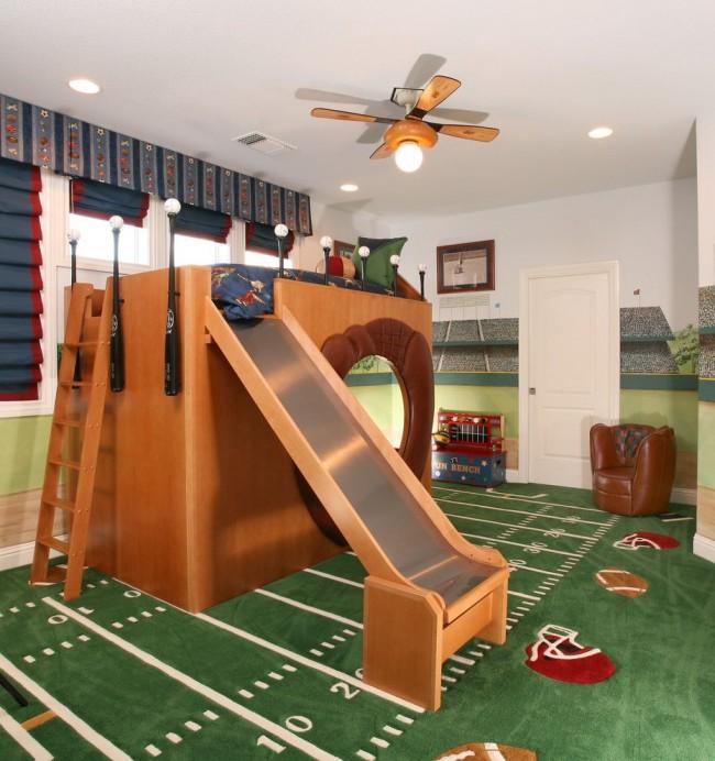 Bedroom Football Goals