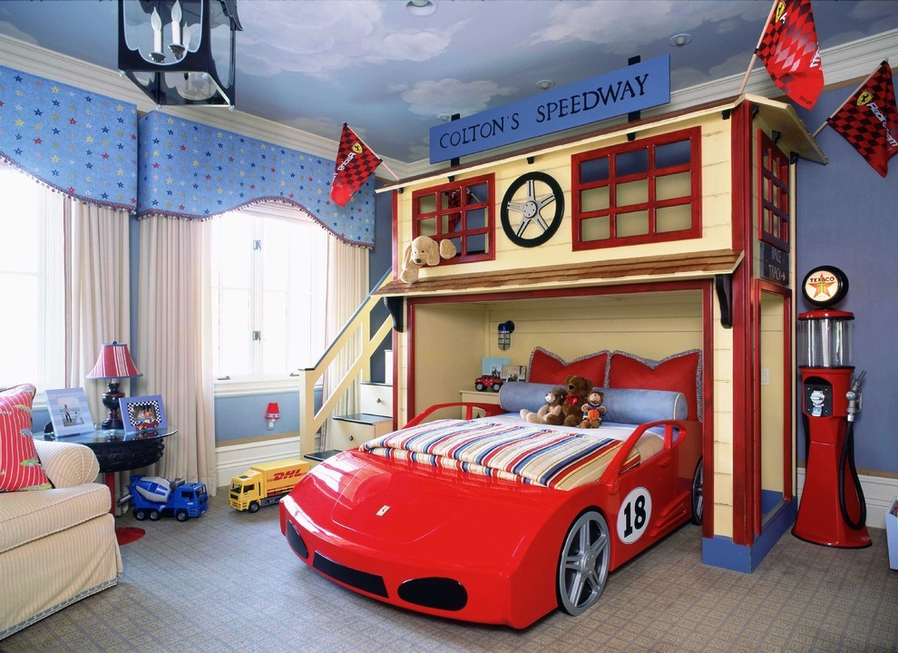 Creative Kids Bedrooms Race Car Inspired Room