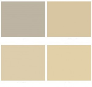 minecraft themed kids room beige colour palette