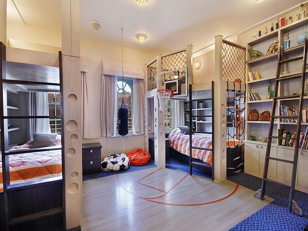 30 creative kids bedroom ideas that you ll love the rug seller creative kids bedrooms basketball inspired room