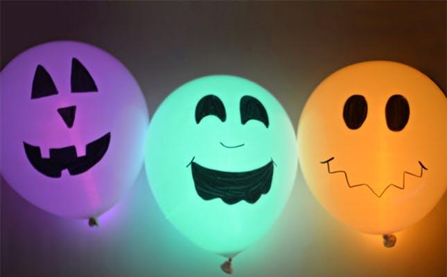 comedy horror balloons