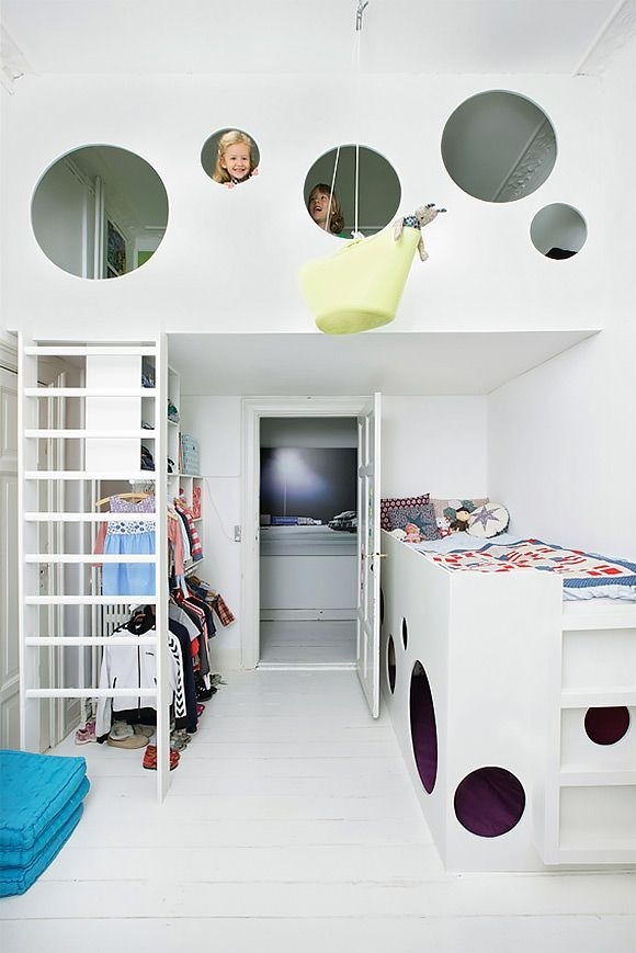 Creative Kids Bedroom Ceiling Fun