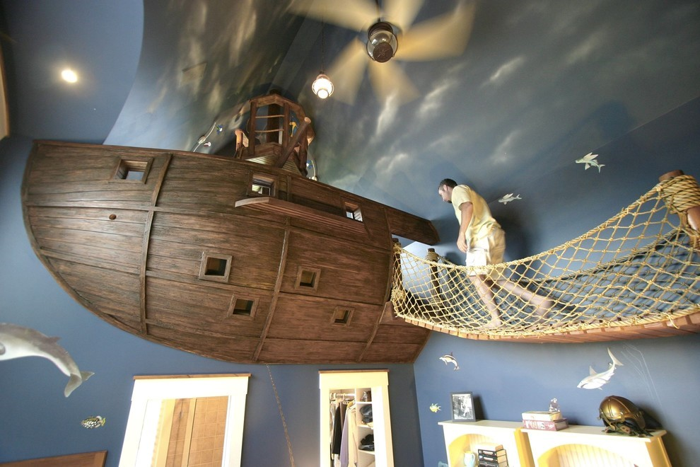 Creative Kids Bedrooms Pirate Ship Inspired Room