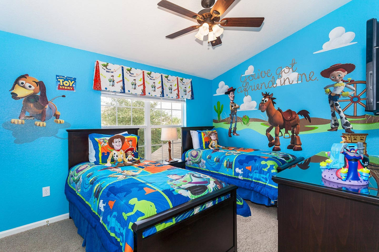 Creative Kids Bedroom Toy Story Inspired Room