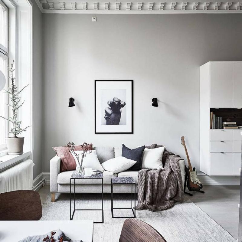 winter decorating ideas play with fabrics