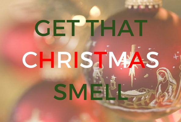 get that christmas smell banner for smells like christmas post