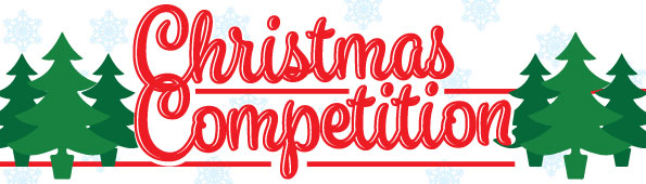 christmas rug competition banner