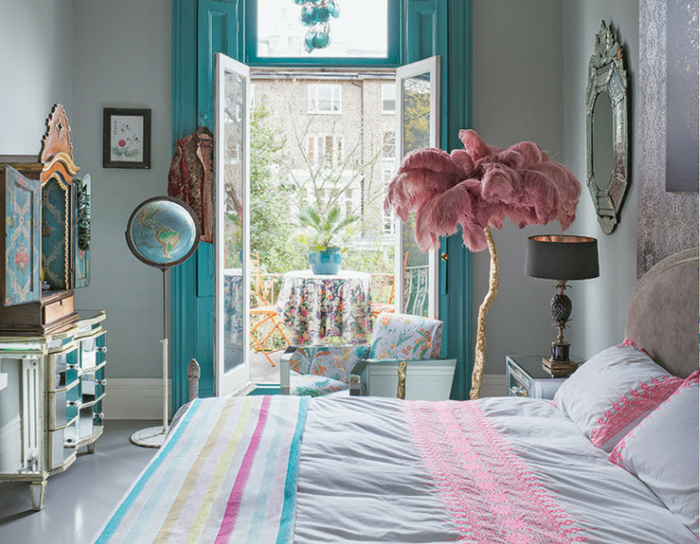 playful interiors airy spacious bedroom