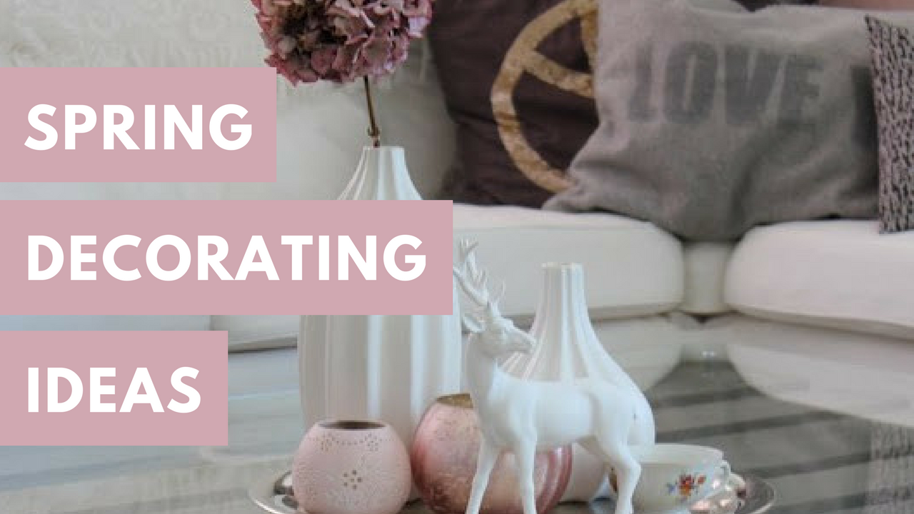 spring decorating ideas banner