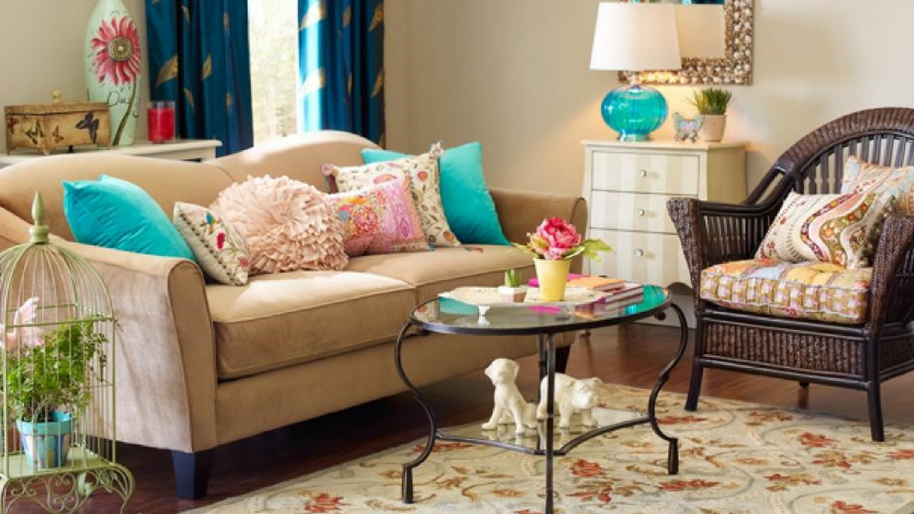spring decorating ideas Update your cushions