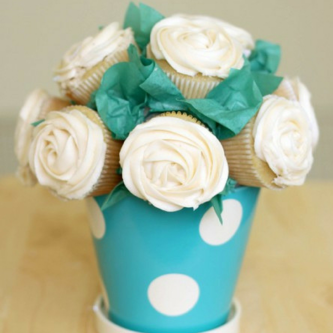 Mother's Day DIY Cupcake Bouquet