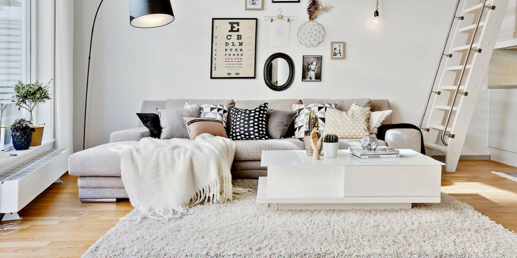 Lagom scandinavian living room