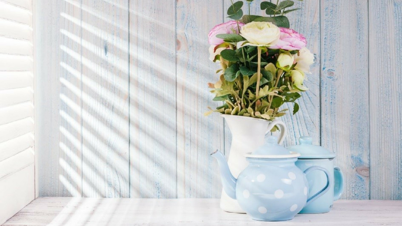 spring decorating ideas Let The Light In