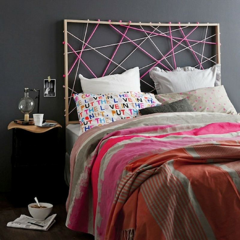 Rope As A Headboard