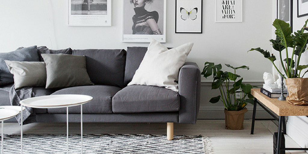 Lagom modern living room space