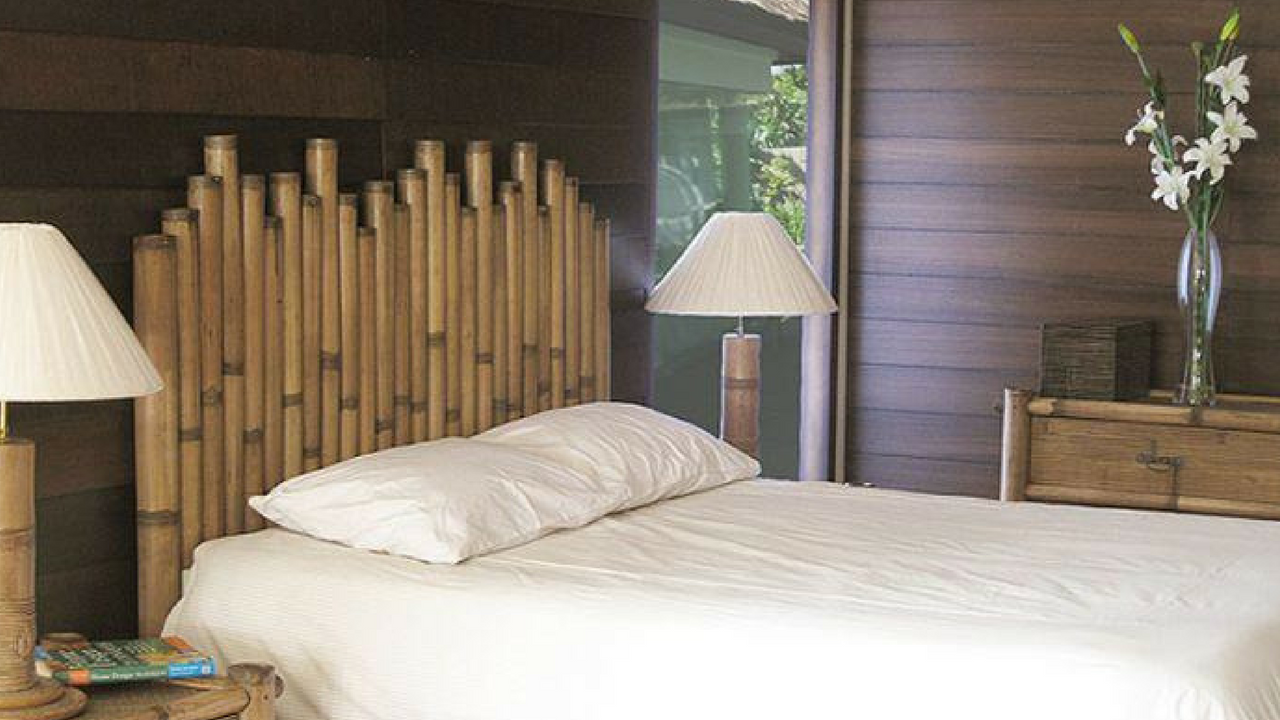 Tropical Bamboo Headboard
