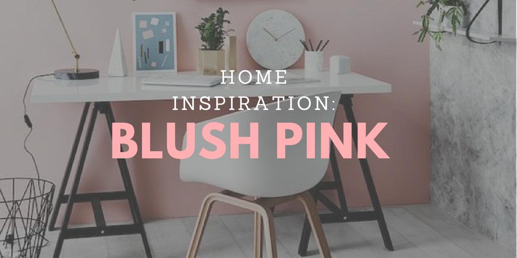 blush pink banner