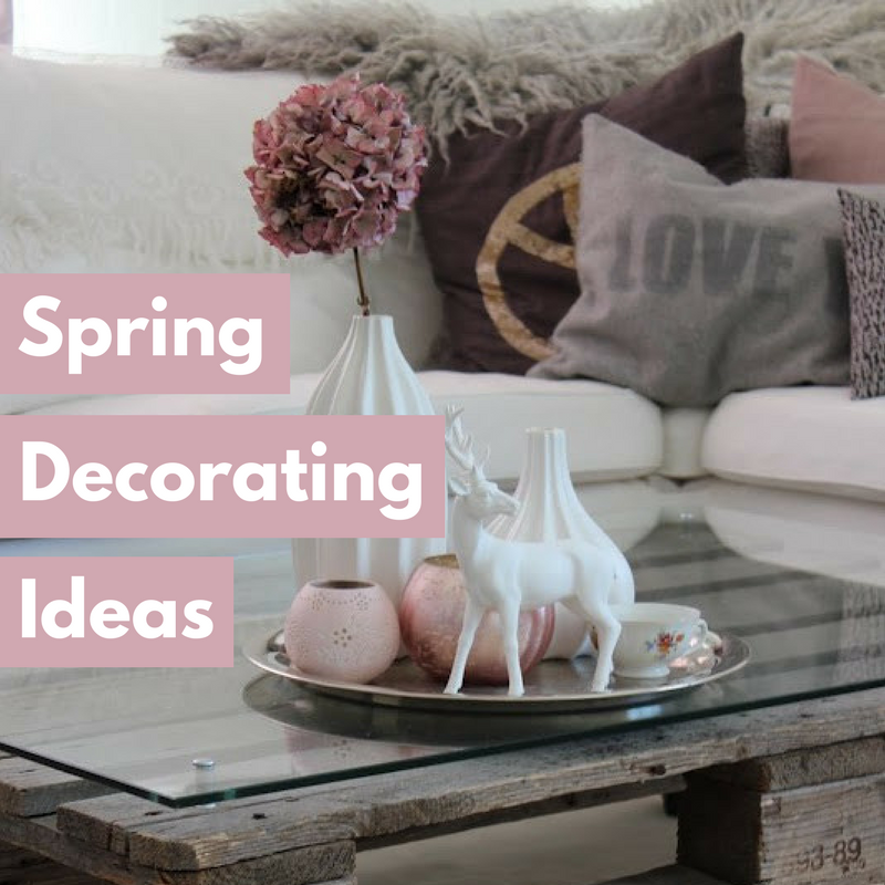 spring decorating ideas featured image
