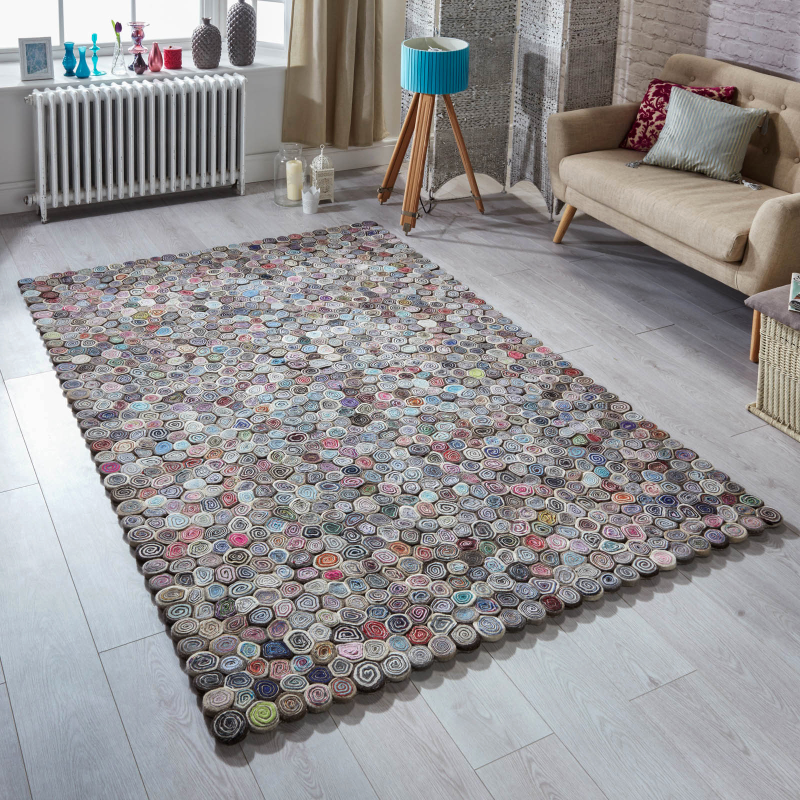 Lagom sushi rugs in colour