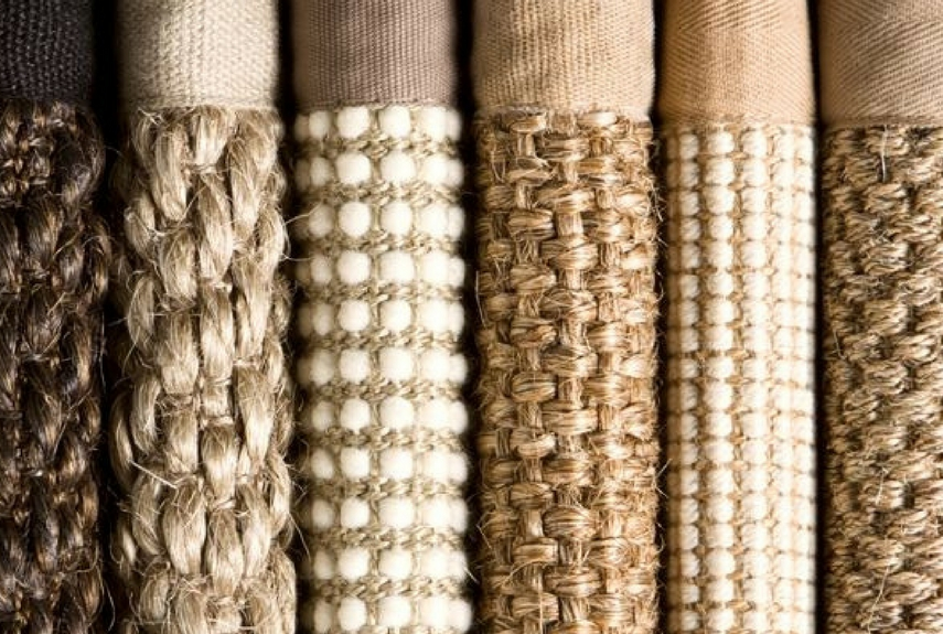 different types of natural fibre rugs