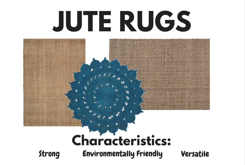 natural fibre rugs jute characteristics