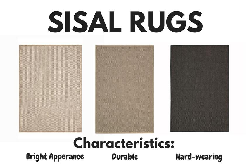 natural fibre rugs sisal characteristics