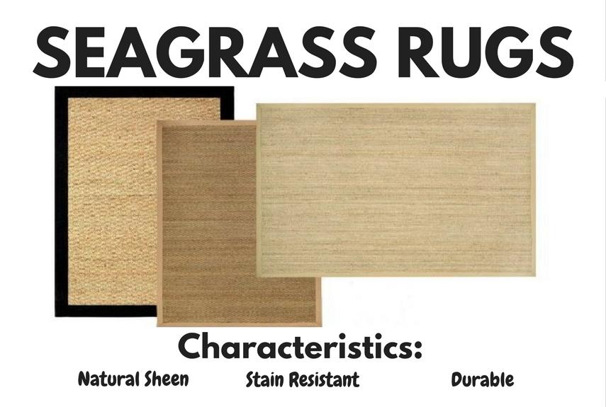 natural fibre rugs seagrass characteristics