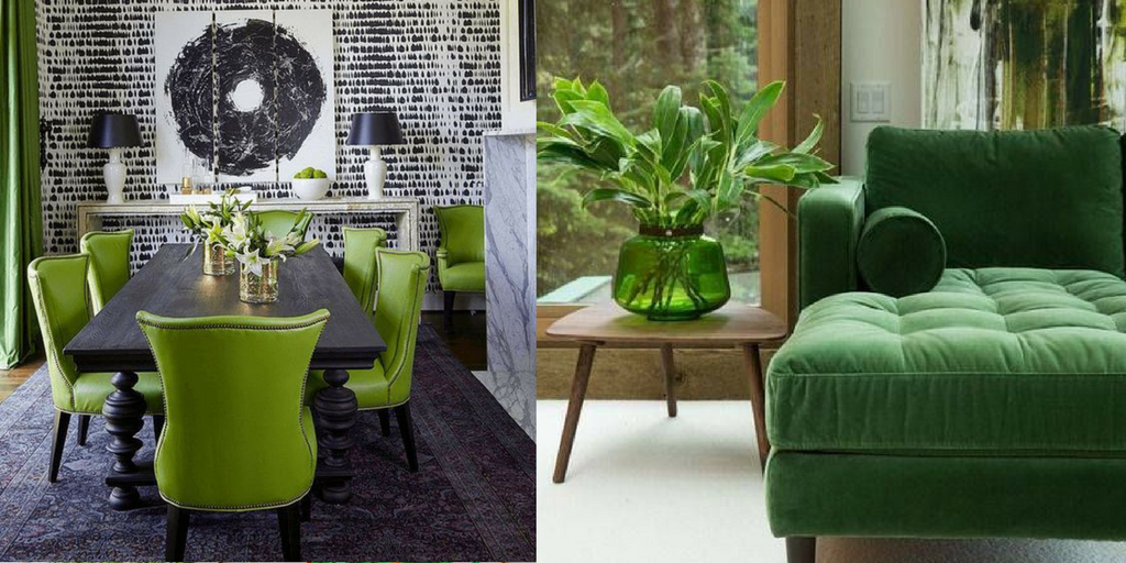 summer hottest interior trends green colour trends
